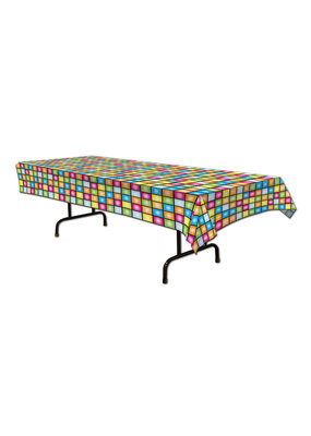 ***Disco Plastic Tablecover