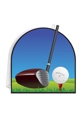 "***Golf 3D 9"" Centerpiece"
