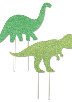 "***Dinosaur 8.5"" Cake Toppers 2ct"