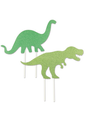 "****Dinosaur 8.5"" Cake Toppers 2ct"