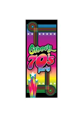 ***Groovy 70's Door Cover
