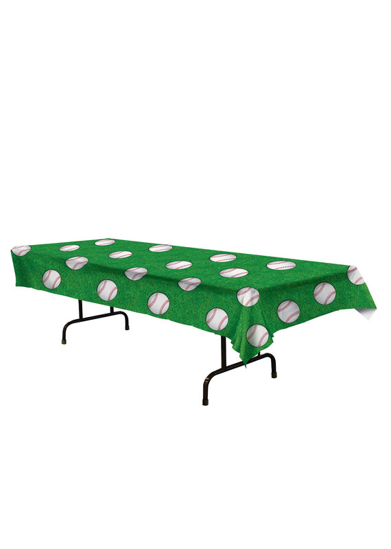 ***Baseball Plastic Tablecover
