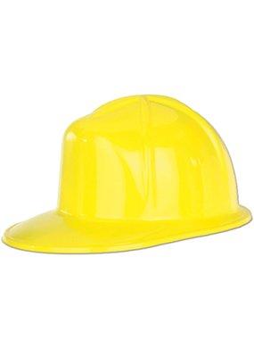 ****Yellow Plastic Construction Helmet Hat
