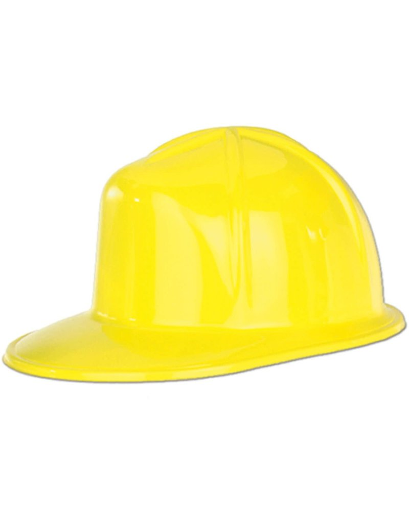 ****Yellow Plastic Construction Helmet Hat