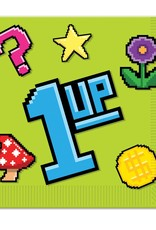 ***8-Bit Lunch Napkins 1 up