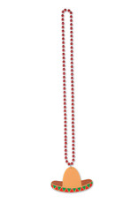 ***Beads with Sombrero Medallion