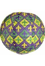 ***Mardi Gras Paper Lantern 3pc.