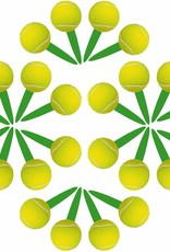***Tennis Cupcake Picks 24ct.
