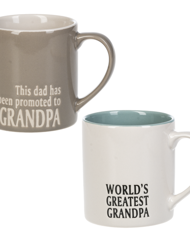 ***Promoted and World's Greatest Grandpa Mug