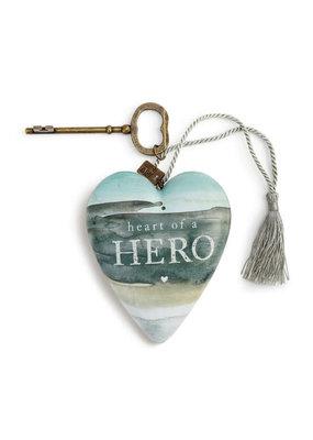 ****Heart of a Hero Art Heart