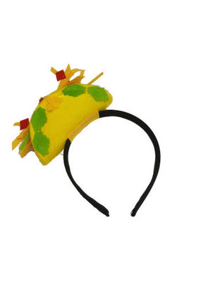 ***Mini Taco Fiesta Headband