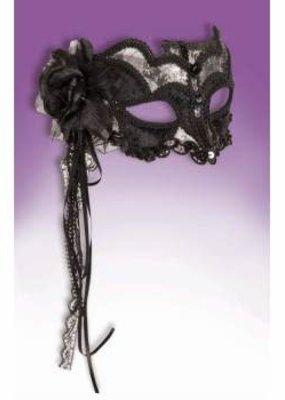 ***Venetian Black Mask