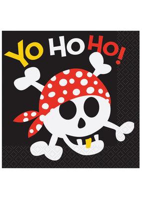 ****Pirate Fun Lunch Napkins 16ct