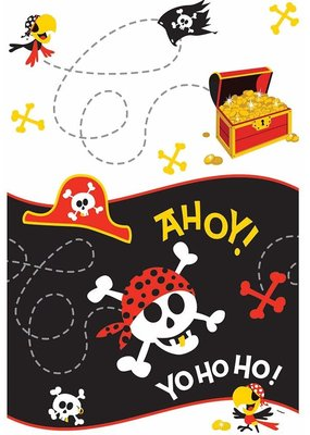 ****Pirate Fun Plastic Tablecover