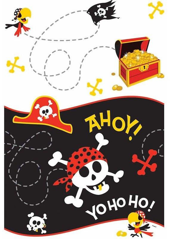 ****Pirate Fun Plastic Tablecover