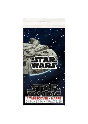 "****Star Wars Classic Rectangular Plastic Table Cover, 54""x84"""