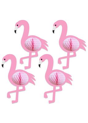 """***Tissue Flamingos 10"""" x 7"""""""