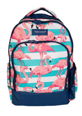 ***Simply Southern Flamingo Backpack