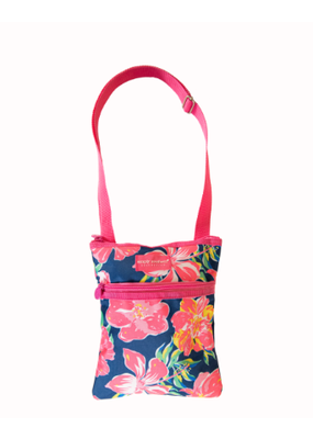 ***Simply Southern Hibiscus Crossbody Bag