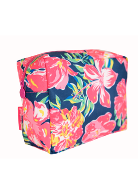 ***Simply Southern Hibiscus Cosmo Bag