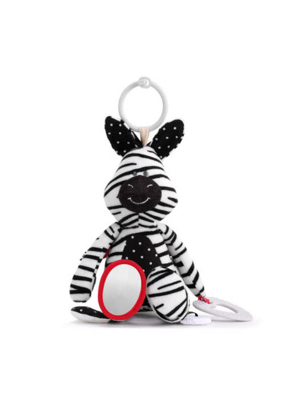 ***Activity Teether Buddy Zebra