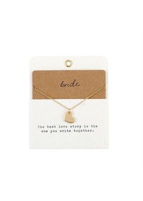 ***Bride Charm Necklace