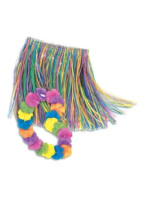 ***Child Lei and Hula Skirt Set