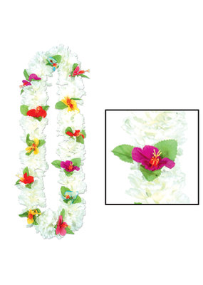 "****Silk Carnation 40"" Lei"
