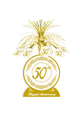 """***50th Anniversary Stand Up 13"""" Centerpiece"""