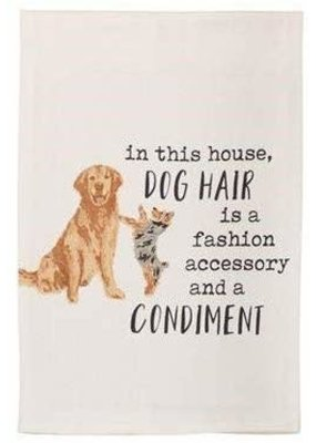 ***In This House Dog Hair Kitchen Towel