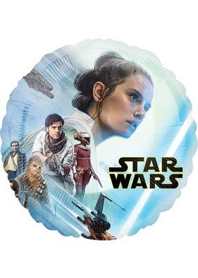 "****Star Wars Rise of Skywalker 18"" Mylar Balloon"