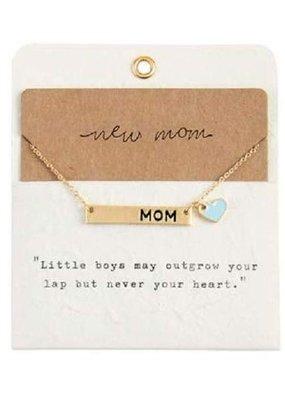***New Boy Mom Necklace