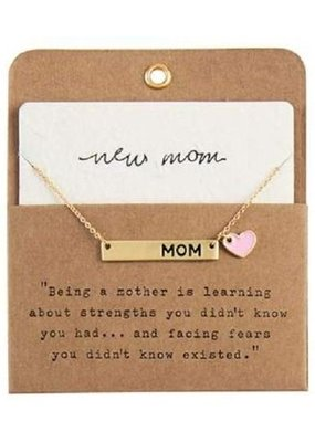 ****New Girl Mom Necklace