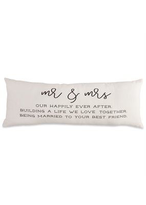 ***Mr & Mrs Definition Pillow