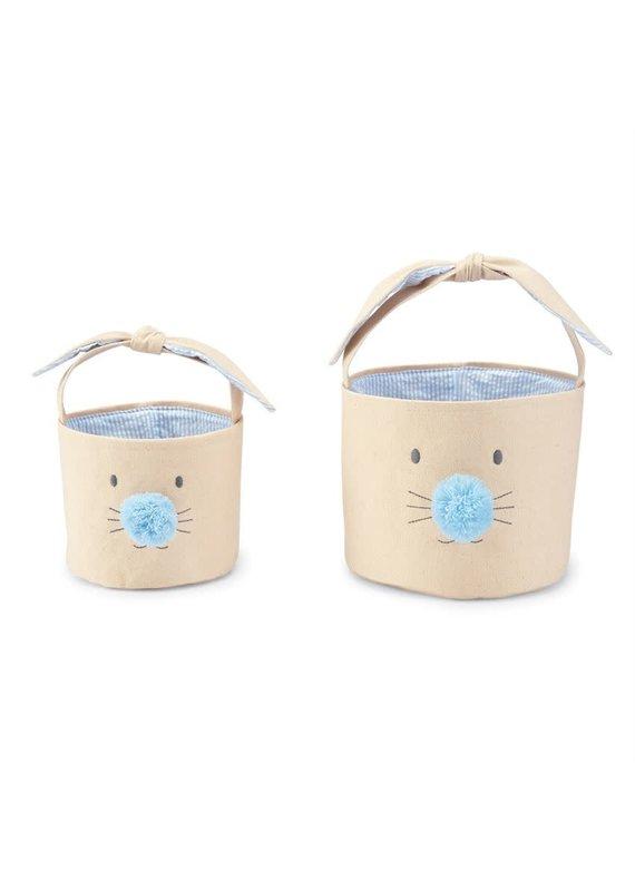 ***Blue Bunny Face Easter Basket