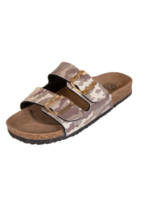 ***Simply Southern Camo Glitter Sandals