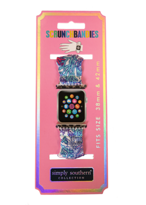 ***Simply Southern Reef Apple Watch Scrunch Band