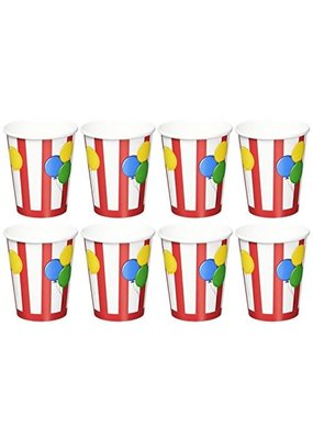 ***Circus Time 9oz Cups 8ct