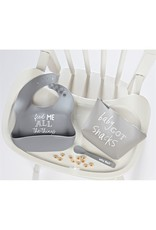 ***Gray Silicon Feeding Set