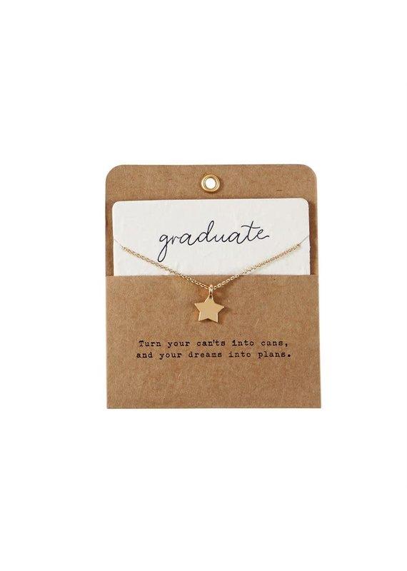 ***Graduation Star Necklace