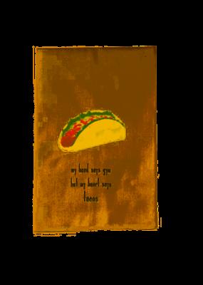 ***Heart Says Tacos Fiesta Kitchen Towel