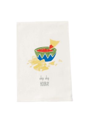 ***Chip Chip Hooray Fiesta Kitchen Towel