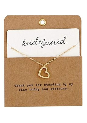 ***Bridesmaid Necklace