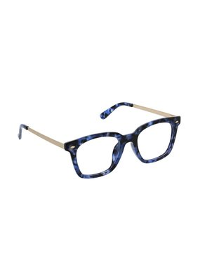 Peepers ***Peepers Style Limelight Navy Tortoise Reading Glasses & Blue Light +3.0