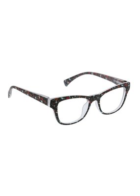 Peepers ***Peepers +3.00 Terrazzo Black Terrazzo Blue Light & Reading Glasses