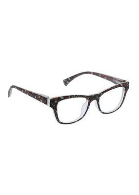 Peepers ***Peepers +1.50 Terrazzo Black Terrazzo Blue Light & Reading Glasses
