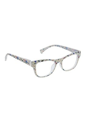 Peepers ***Peepers Terrazzo Focus Cream Terrazzo Reading Glasses & BlueLight +0.0