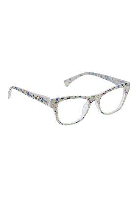 Peepers ***Peepers +1.50 Terrazzo Focus Cream Terrazzo Blue Light & Reading Glasses