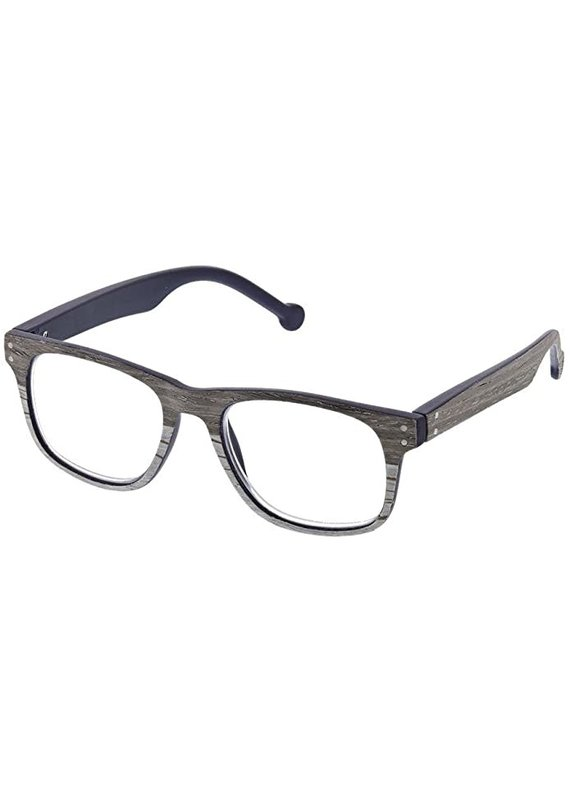 Peepers ****Peepers +2.50 The Craftsman Gray/White Reading Glasses