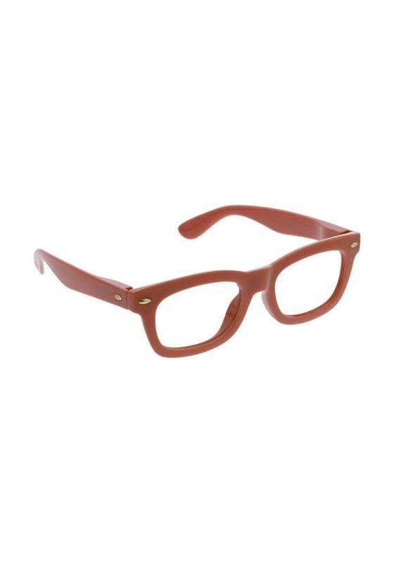 Peepers *****Peepers +2.75 Lois Focus Rust Blue Light & Reading Glasses